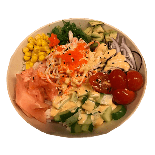 Foto Poke bowl California